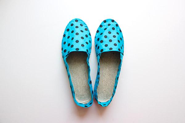 Passende Schuhe zum Outfit selbernähen