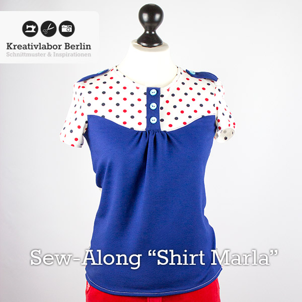 Sew-Along Shirt Marla