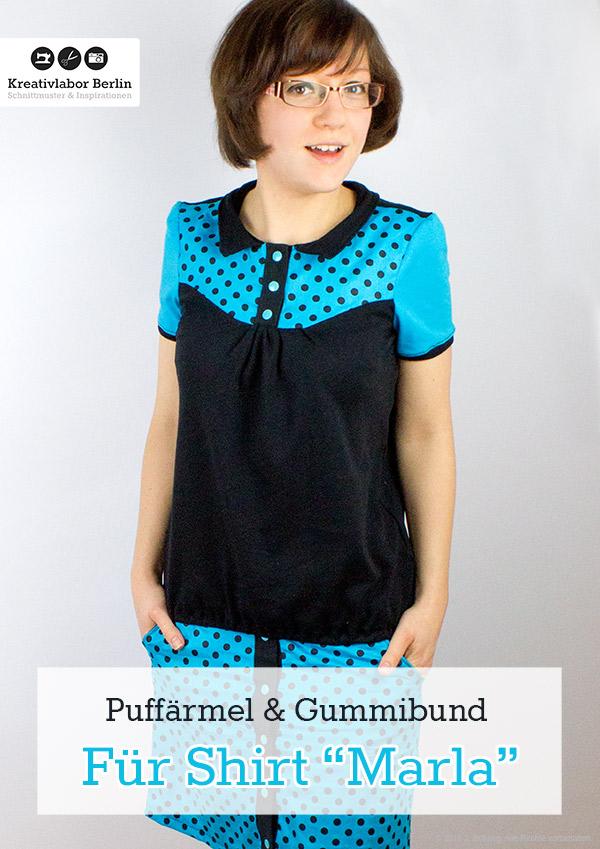 Puffärmel für Shirt Marla