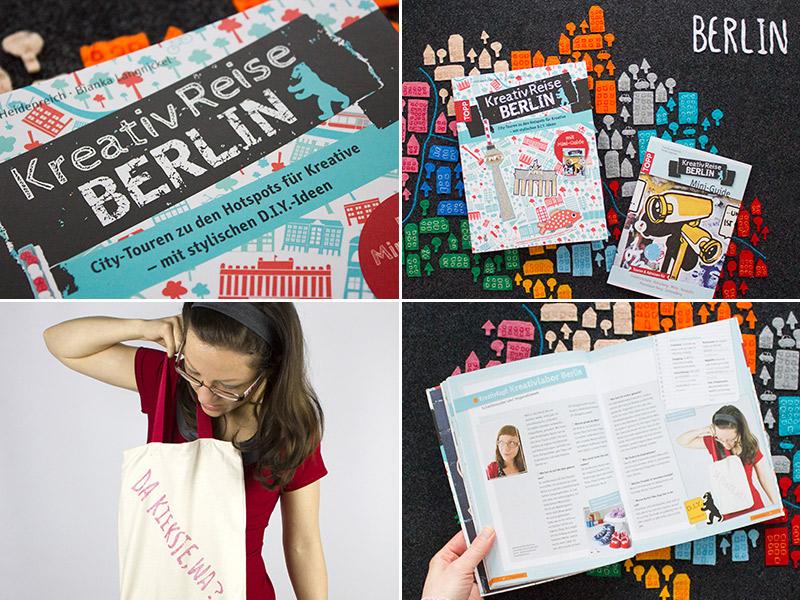 """Buch """"KreativReise BERLIN"""" zu gewinnen!"""