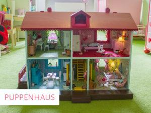 Neugestaltung eines alten Puppenhauses