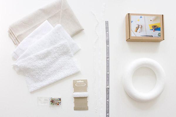 DIY-Anleitung Willkommenskranz zur Hochzeitsfeier