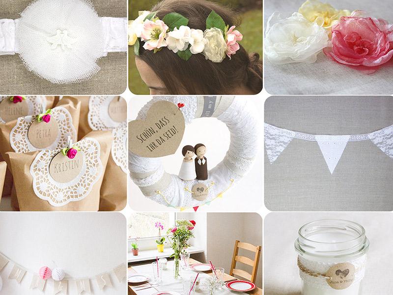 Neues Freebook: 15 Gratis-Anleitungen und Schnittmuster zur Hochzeit