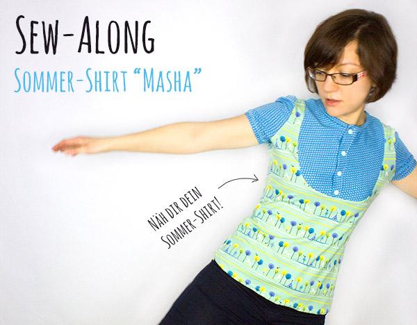 Sew Along Shirt Masha