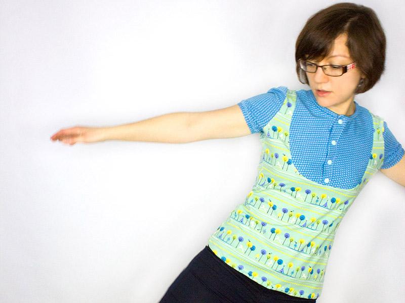 """Sew-Along Teil 3: Näh dir dein Sommer-Shirt """"Masha""""!"""