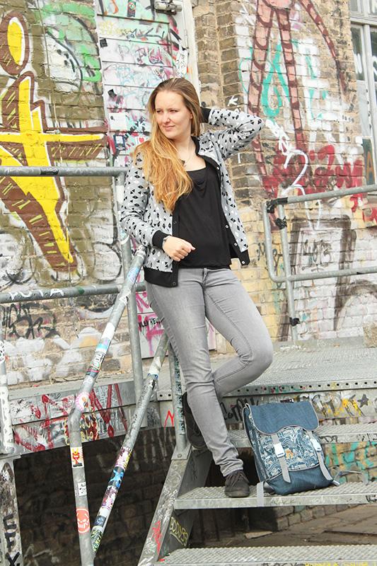 Sportlicher Cardigan: Nähen mit Svenja