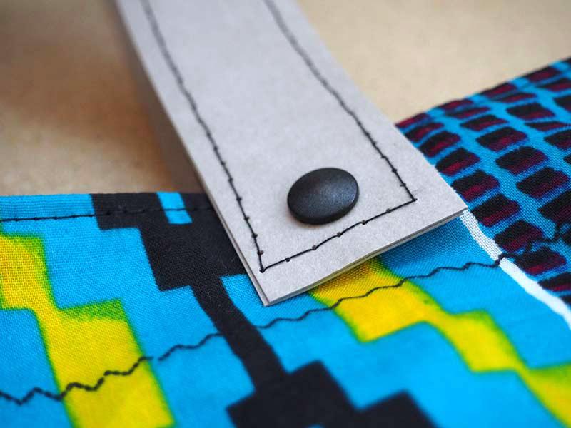 Nähen mit Svenja: Eine Tasche aus afrikanischen Stoffen