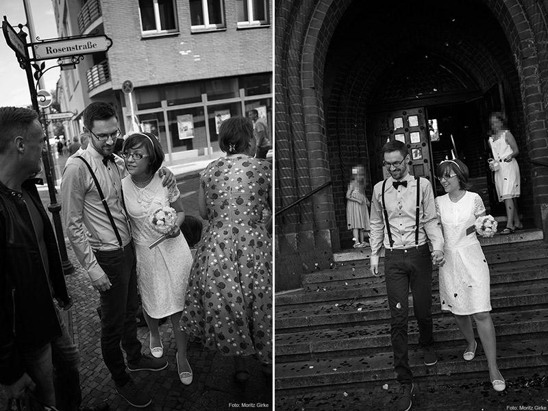 Mein Brautkleid: Fotos von unserer Hochzeit