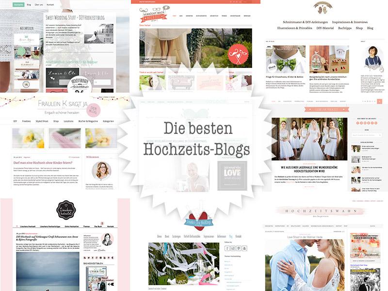 Die schönsten Hochzeitsblogs: DIY-Ideen, Inspirationen & mehr