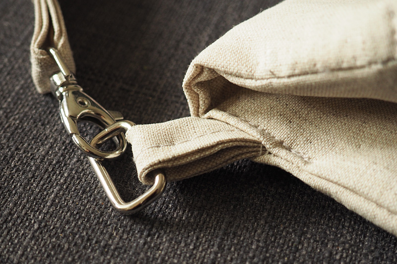 Handtasche Mira als Clutch