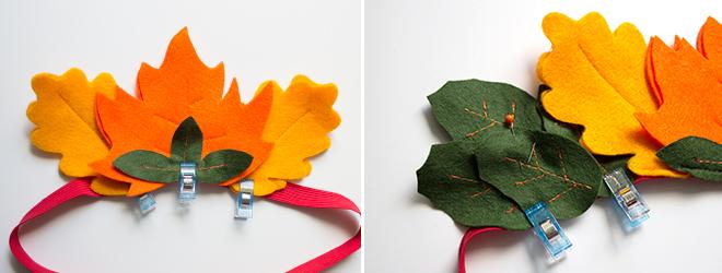 Herbstgeburtstag: Nähen mit Filz