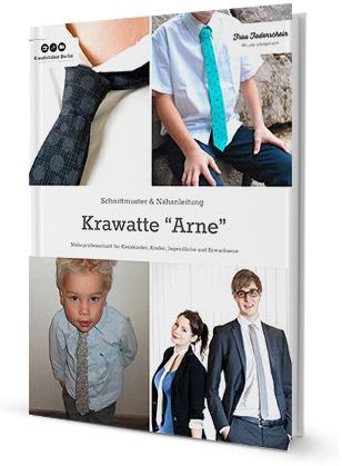 """Krawatte """"Arne"""" für Kinder, Jugendliche und Erwachsene"""