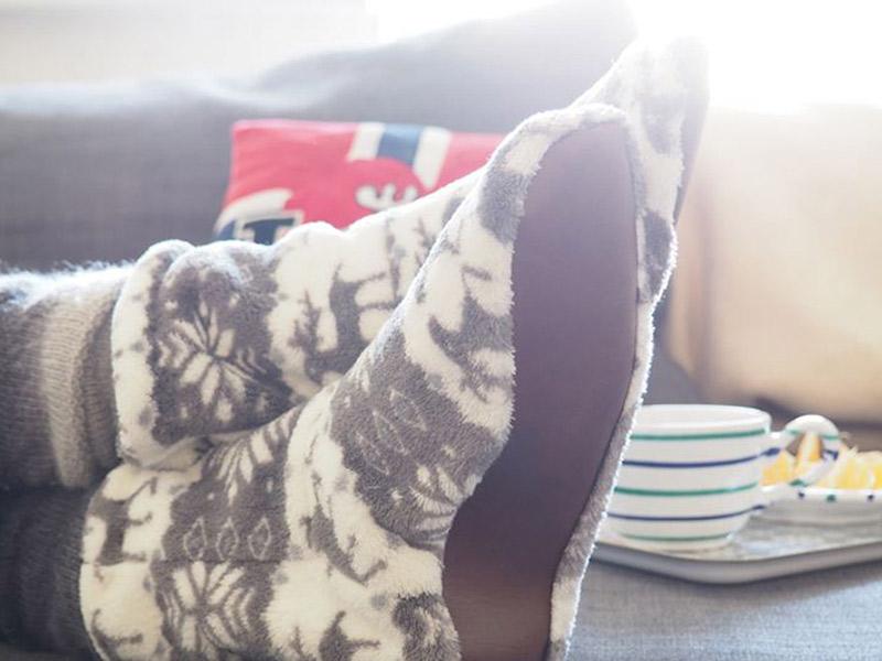Nähen mit Svenja: Hausschuhe Gunilla aus Fleece