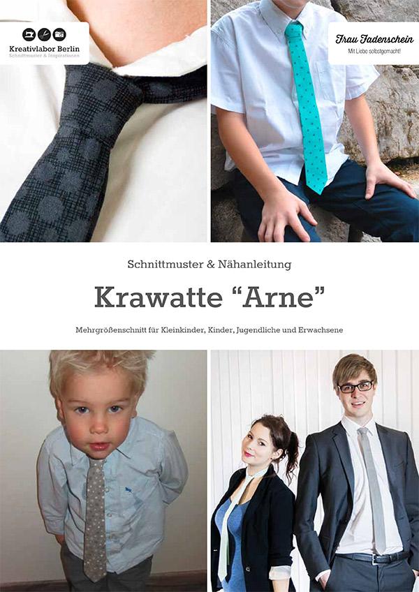 Krawatte Arne für Kinder, Jugendliche und Erwachsene