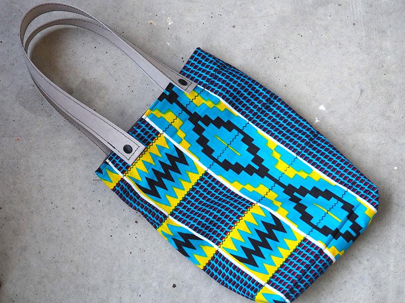 Tasche aus afrikanischen Stoffen