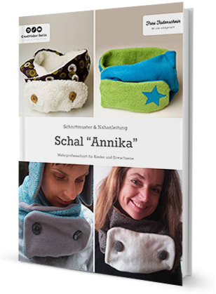 """Schal """"Annika"""" für Erwachsene und Kinder"""