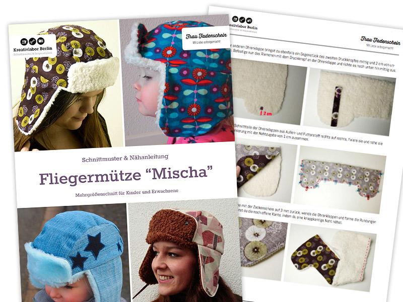 """Fliegermütze """"Mischa"""""""