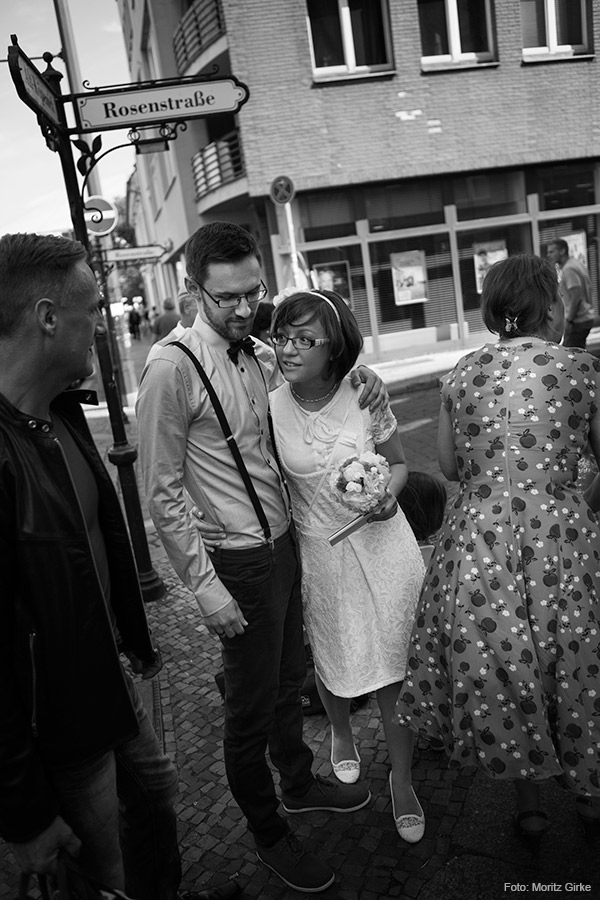 Hochzeit im Kreativlabor