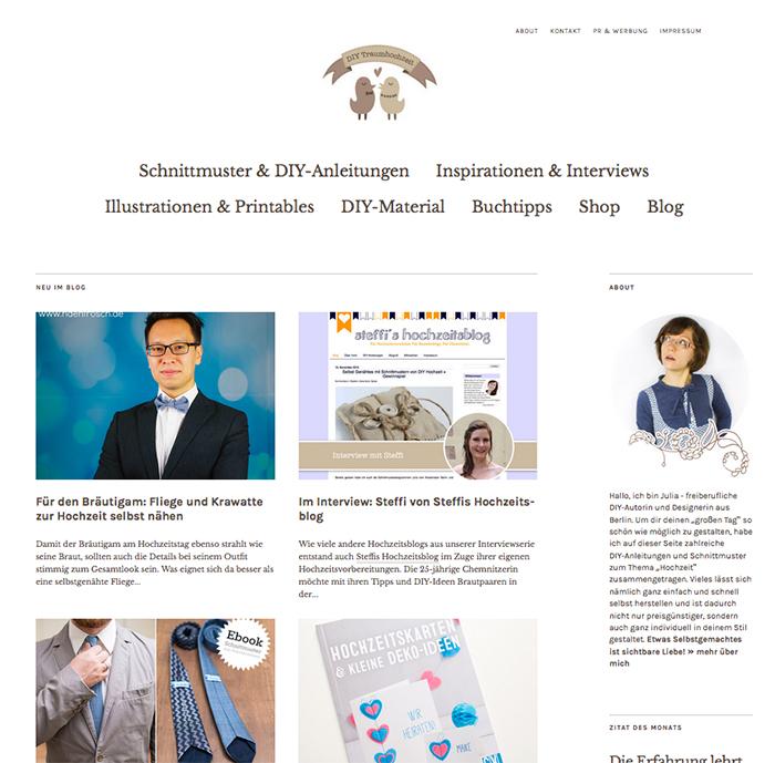 Blog DIY Traumhochzeit