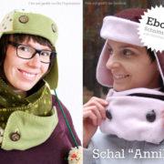 """Neues Winter-Schnittmuster: Schal """"Annika"""" von Erwachsene & Kinder"""