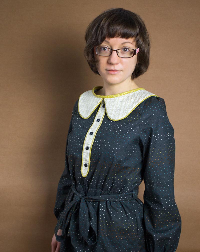 Weihnachtskleid Sew Along 2015: Mein fertiges Kleid