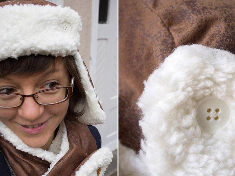 Meine kuschlige Winterkombi: Mütze, Schal & Handschuhe