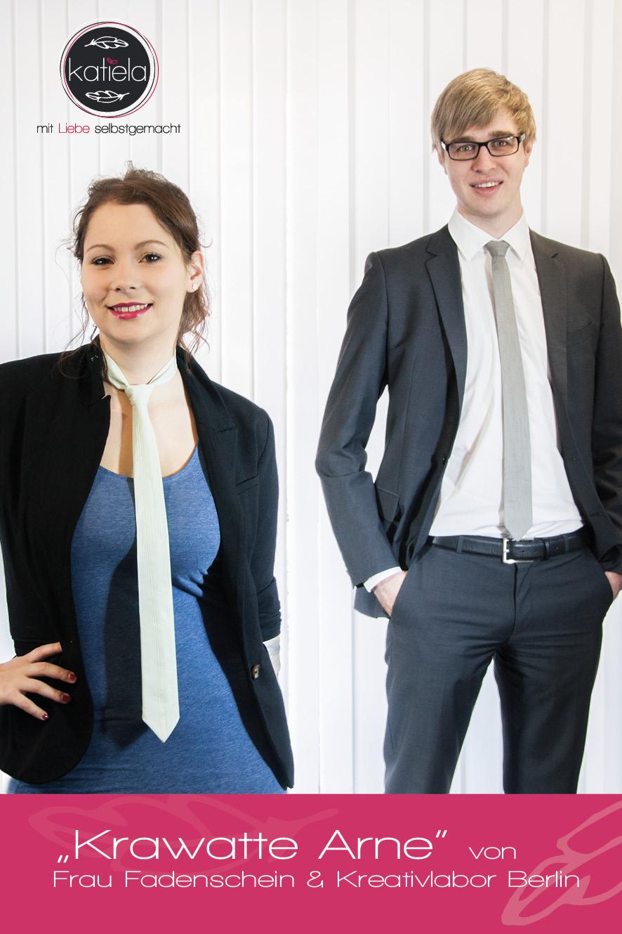 """Krawatte """"Arne"""" für Sie und Ihn"""