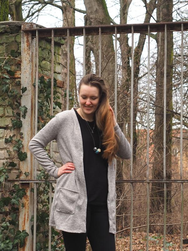 Nähen mit Svenja: Cardigan Maja als Strickmantel