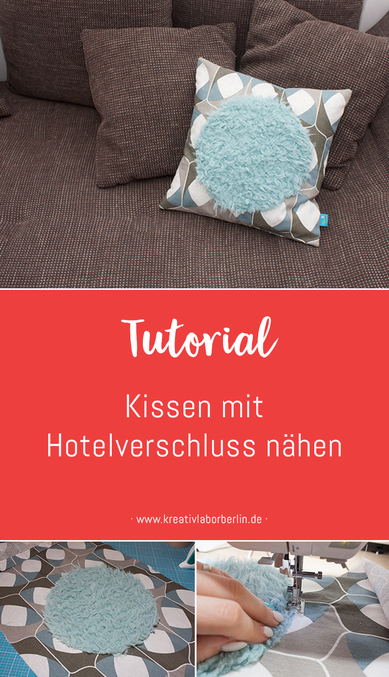 diy anleitung kissen mit hotelverschluss n hen. Black Bedroom Furniture Sets. Home Design Ideas