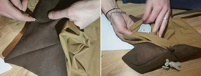 """Tutorial: Handtasche """"Linnea"""" mit Steckverschluss"""