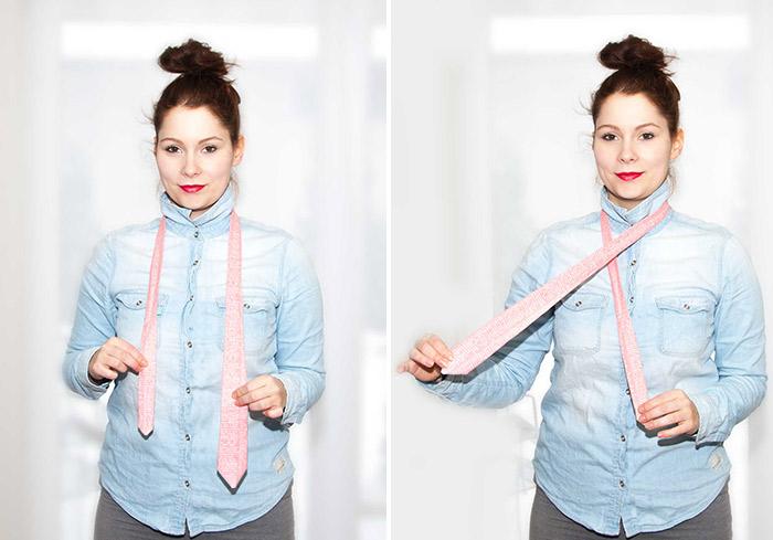 Tutorial: Krawatte binden