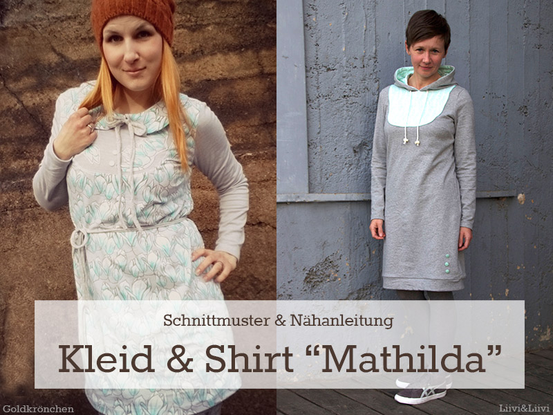 Unser neues Schnittmuster ist da: Kleid & Shirt \