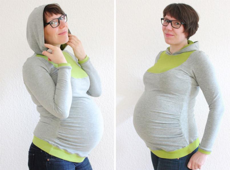 """Kleid """"Mathilda"""" als Schwangeren-Version nähen"""