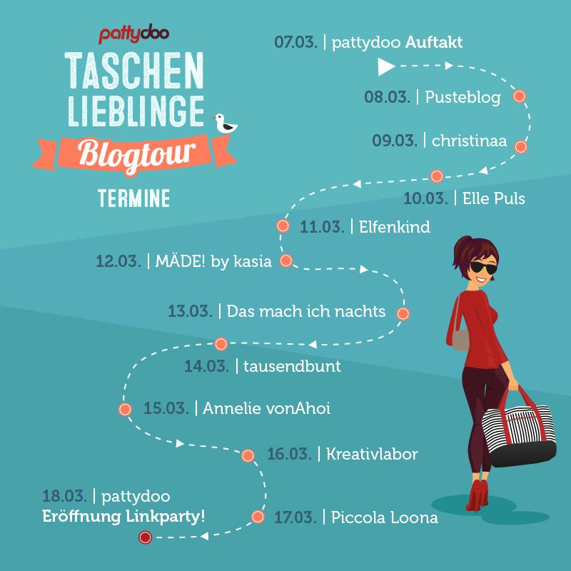 pattydoo's Taschenlieblinge-Blogtour