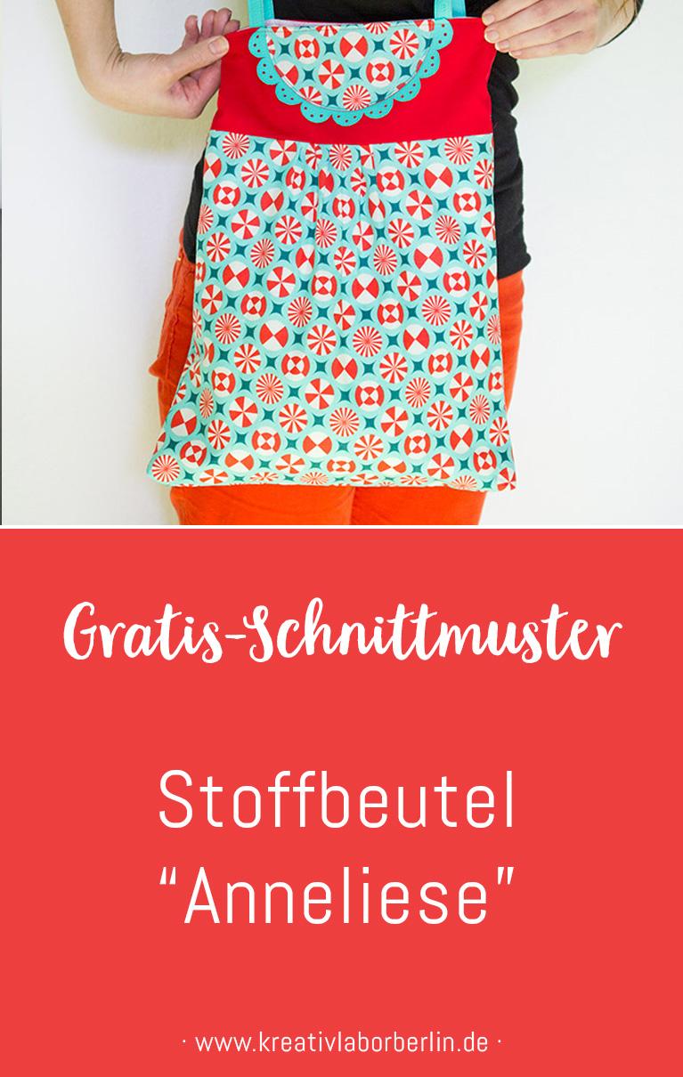 "Schnittmuster & Nähanleitung Stoffbeutel ""Anneliese"""