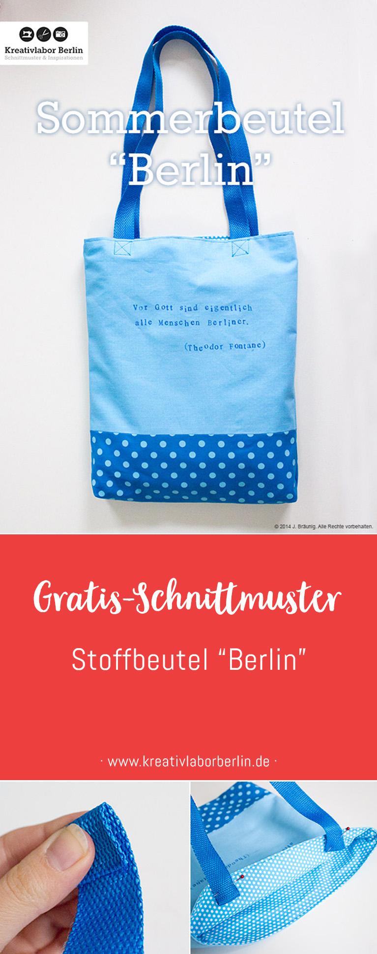 "Stoffbeutel ""Berlin"""