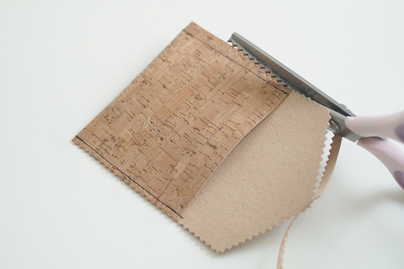 Nähen mit Svenja: Mini-Portemonnaie aus Kork nähen (Nähanleitung)