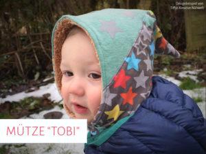 "Mütze ""Tobi"" (Kopfumfang / Größe: 29 - 45)"