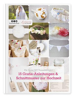 15 Gratis-Anleitungen und Schnittmuster zur Hochzeit