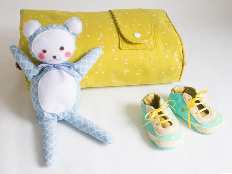 Wickeltasche fürs Baby nähen