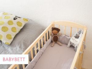 Bettnestchen fürs Babybett