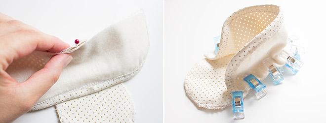 Babyschuhe aus Kunstleder selbst nähen