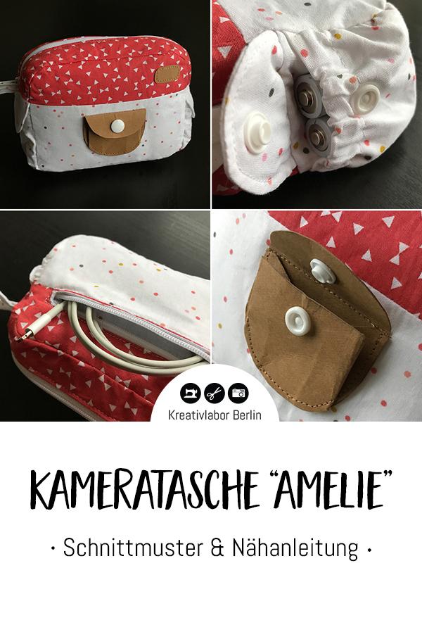 "Schnittmuster & Nähanleitung Kameratasche ""Amelie"""