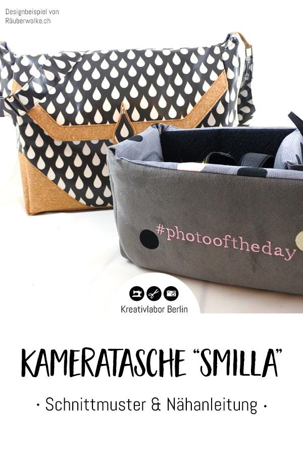 "Schnittmuster & Nähanleitung Kameratasche ""Smilla"""