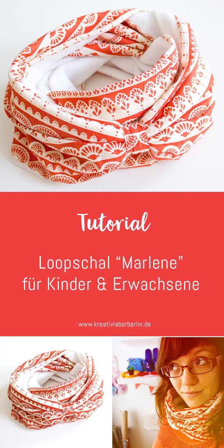 """Loopschal """"Marlene"""" für Erwachsene & Kinder – Kreativlabor Berlin"""