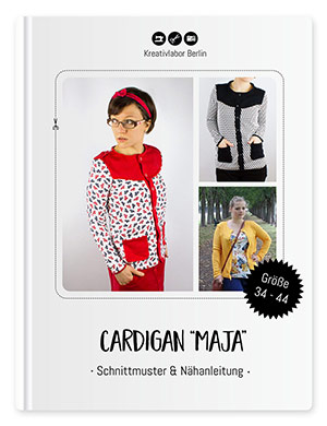 "Cardigan / Strickjacke ""Maja"""