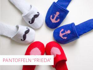 "Pantoffeln ""Frieda"""