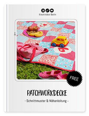 Eine einfache Patchwork-Decke nähen