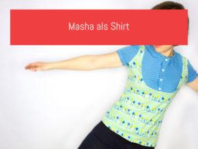 Masha als Shirt