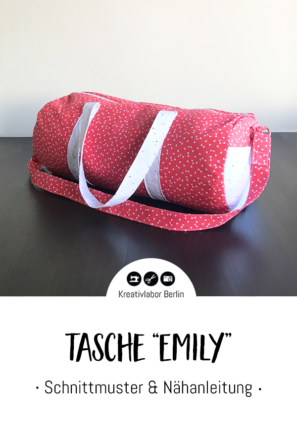 """Schnittmuster & Nähanleitung Tasche """"Emily"""""""